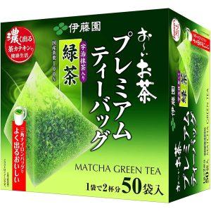 Itoen Oi Tea Premium Te verde in bustina con te matcha di Uji 7 TuttoGiappone