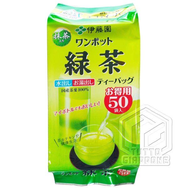 Itoen One Pot Green Tea te verde in bustine con te matcha 2 TuttoGiappone