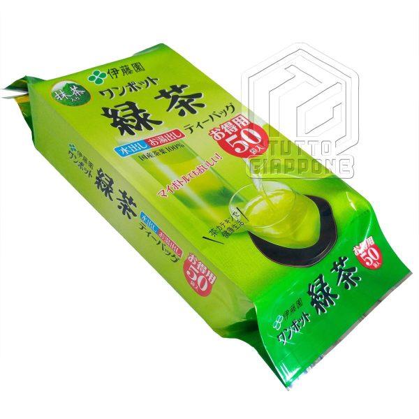 Itoen One Pot Green Tea te verde in bustine con te matcha 3 TuttoGiappone