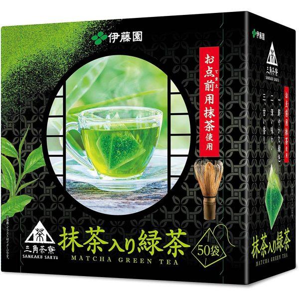 Itoen te verde 50 bustine di te verde con matcha 1 tuttogiappone