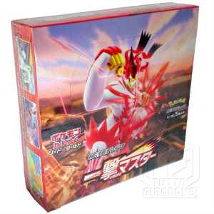 Pokemon Card Game Sword and Shield Expansion Pack One Strike colpo singolo Box fianco2 TuttoGiappone