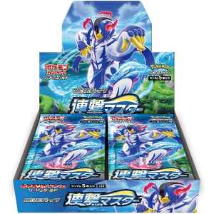 Pokemon Card Game Sword and Shield Expansion Pack Rengeki Master Box 1 TuttoGiappone