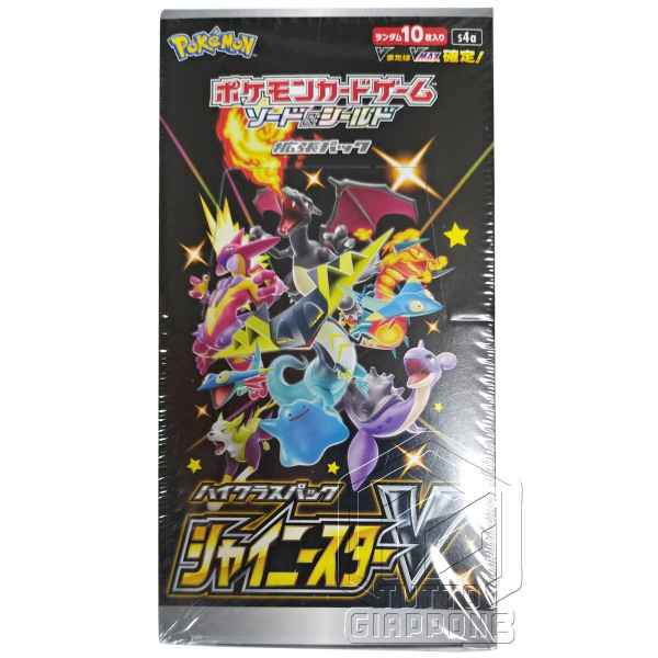 Pokemon Card Game Sword and Shield High Class Pack Shiny Star V Box fronte TuttoGiappone