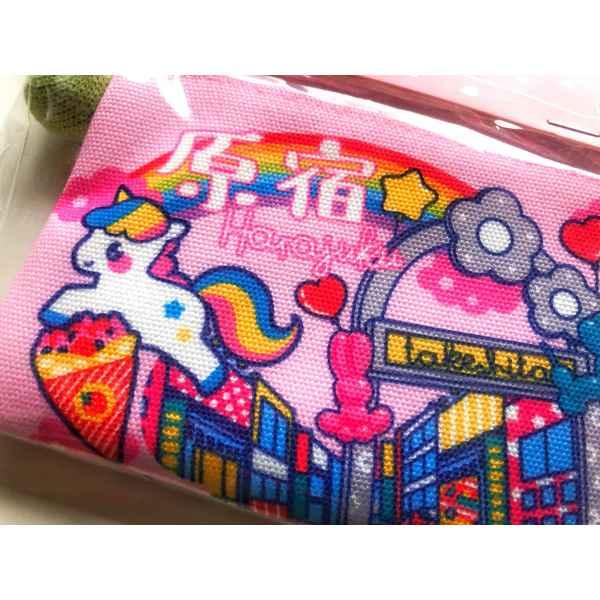 Mini pouch Harajuku 2 min