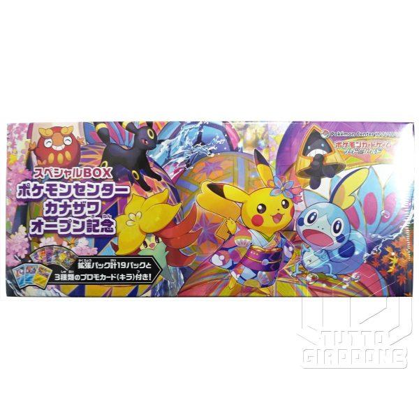 Pokemon Card Game Special Box Pokemon Center Kanazawa Open Memorial 2 TuttoGiappone