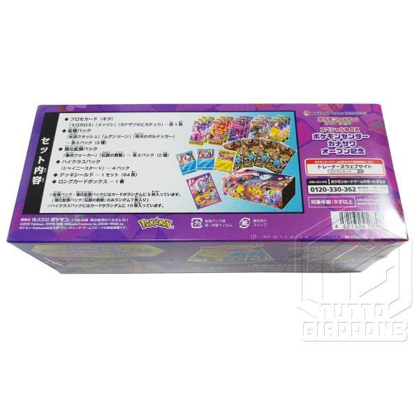 Pokemon Card Game Special Box Pokemon Center Kanazawa Open Memorial 7 TuttoGiappone