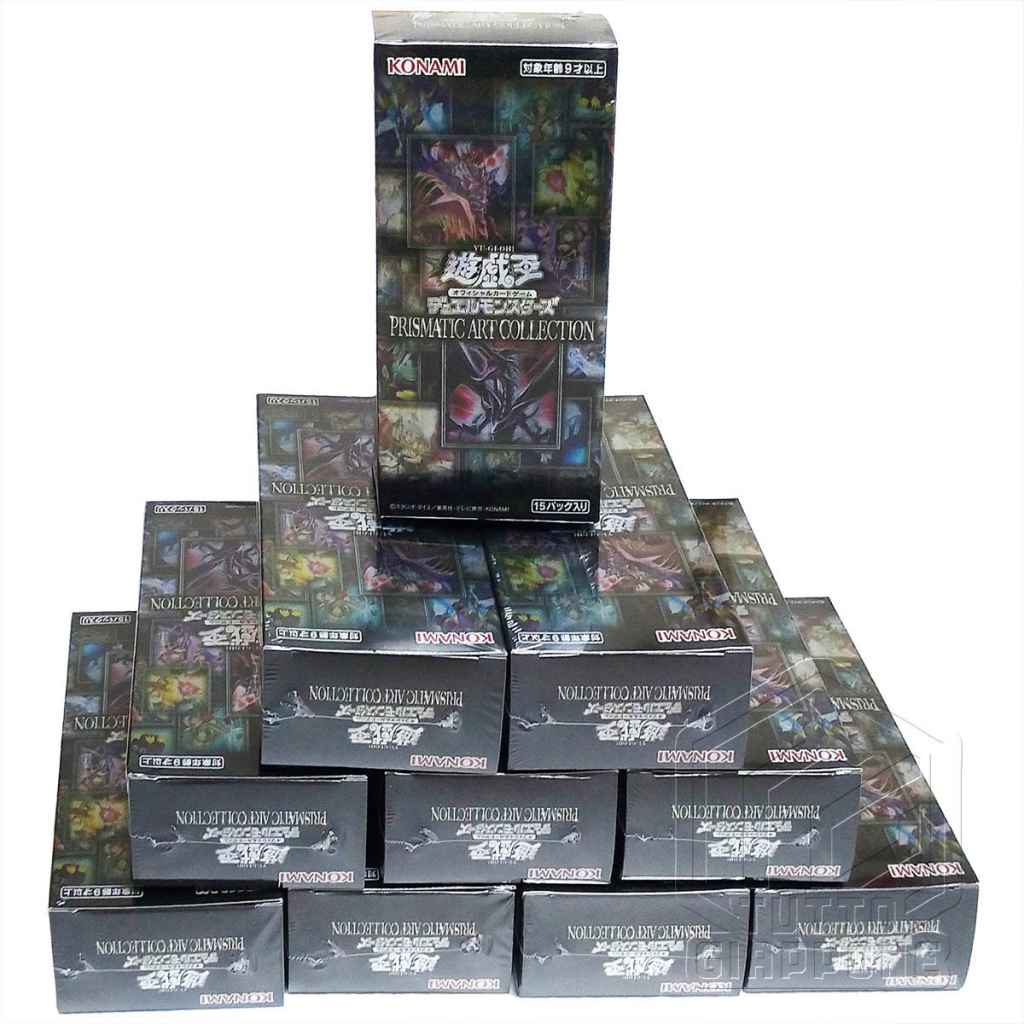 Yu Gi Oh OCG Duel Monsters PRISMATIC ART COLLECTION Box view gruppo TuttoGiappne