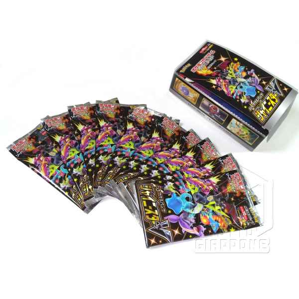 Pokemon Card Game Sword and Shield High Class Pack Shiny Star V Box 3 aperto TuttoGiappone