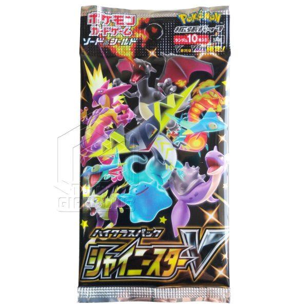 Pokemon Card Game Sword Shield Shiny Star V pack bustina singola fronte TuttoGiappone