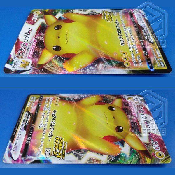 Pokemon carta Pikachu VMax Astonishing Voltecker promo 123 S P 05 TuttoGiappone