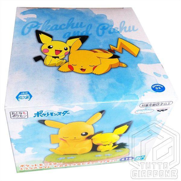 Action Figure Pokemon Pikachu e Pichu relax 05 TuttoGiappone
