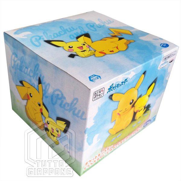 Action Figure Pokemon Pikachu e Pichu relax 06 TuttoGiappone