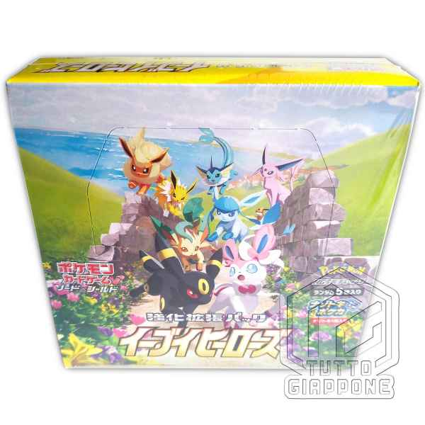 Enhanced Expansion Pack Eevee Heroes Box 2 TuttoGiappone