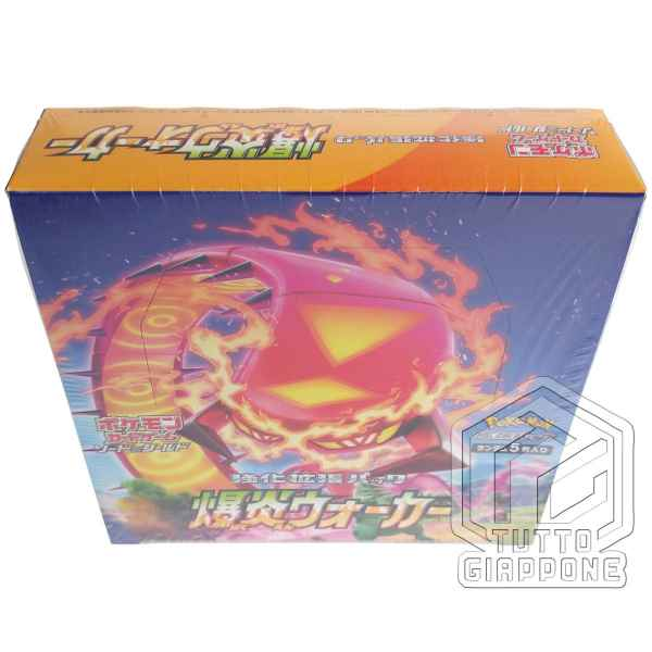 Pokemon Card Expansion Pack Explosive Walker 02 Box TuttoGiappone