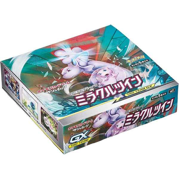 Pokemon Card Game Miracle Twin box 01 TuttoGiappone
