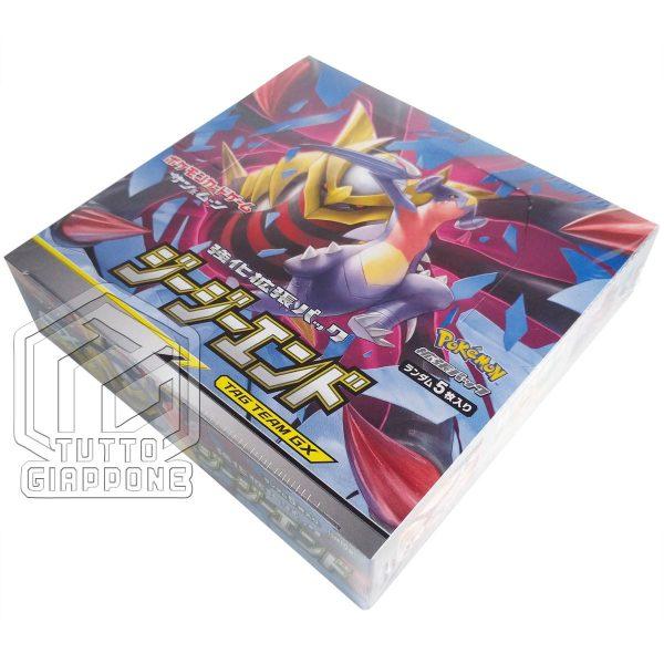 Pokemon Card Sun Moon Tag Tea GX GG End box sm10a 05 TuttoGiappone