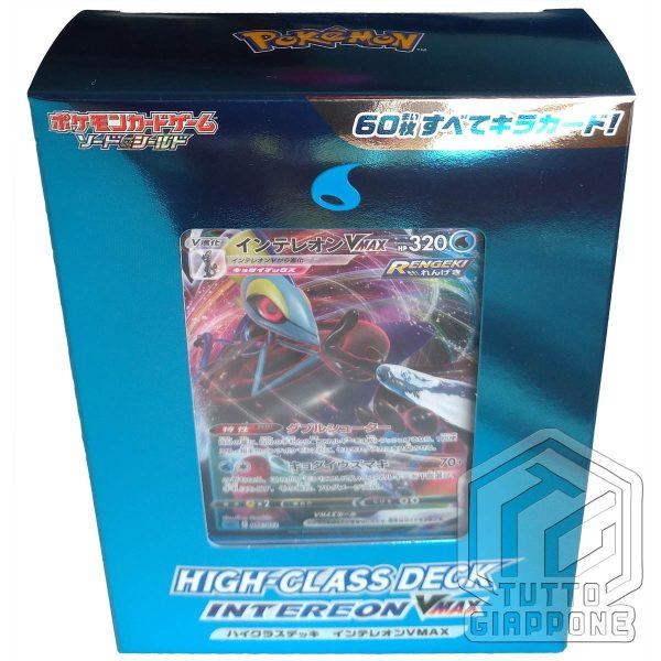 Pokemon High Class Deck Inteleon VMAX 3 TuttoGiappone