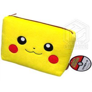 Pokemon Pikachu Beauty Case soffice pouch capiente e carino 1 TuttoGiappone