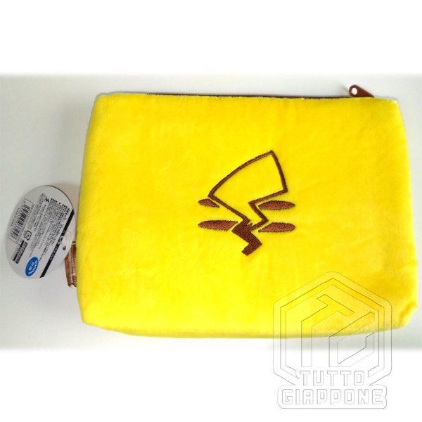 Pokemon Pikachu Beauty Case soffice pouch capiente e carino 4 TuttoGiappone