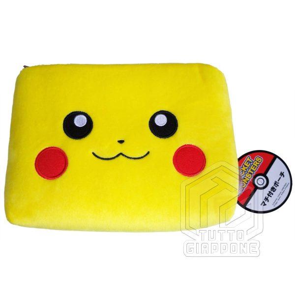 Pokemon Pikachu Beauty Case soffice pouch capiente e carino 5 TuttoGiappone