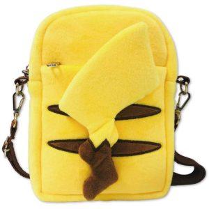 Pokemon borsetta Pikachu in peluche con cinghia 01 TuttoGiappone