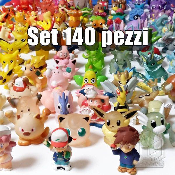 Pokemon mini modellini figure plastica 01 TuttoGiappone