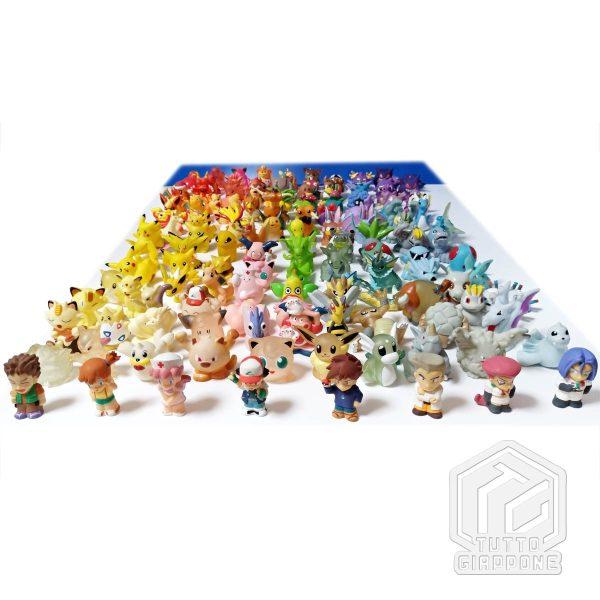 Pokemon mini modellini figure plastica 02 TuttoGiappone