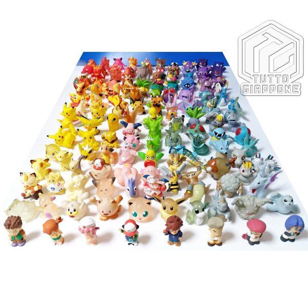 Pokemon mini modellini figure plastica 03 TuttoGiappone