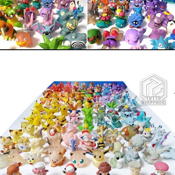 Pokemon mini modellini figure plastica 04 TuttoGiappone