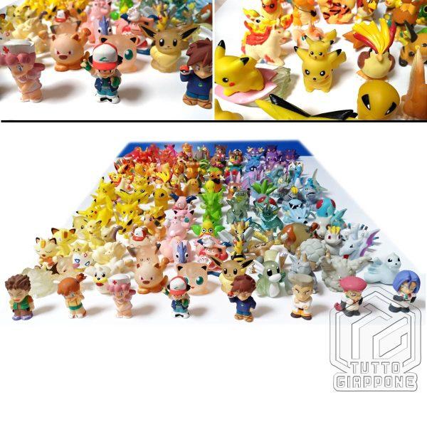 Pokemon mini modellini figure plastica 05 TuttoGiappone