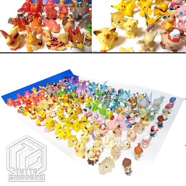 Pokemon mini modellini figure plastica 06 TuttoGiappone