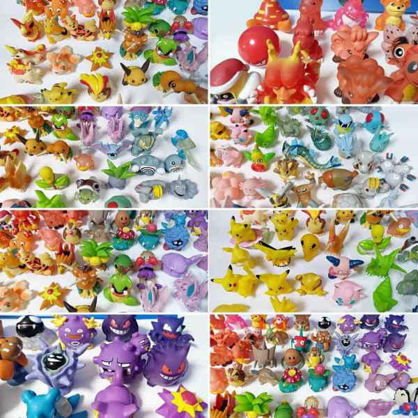Pokemon mini modellini figure plastica 07 TuttoGiappone