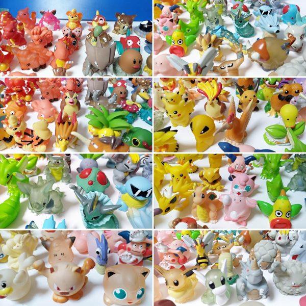Pokemon mini modellini figure plastica 08 TuttoGiappone