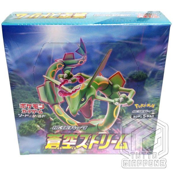 Pokemon Card Blue Sky Stream Rayquaza Box 3 TuttoGiappone