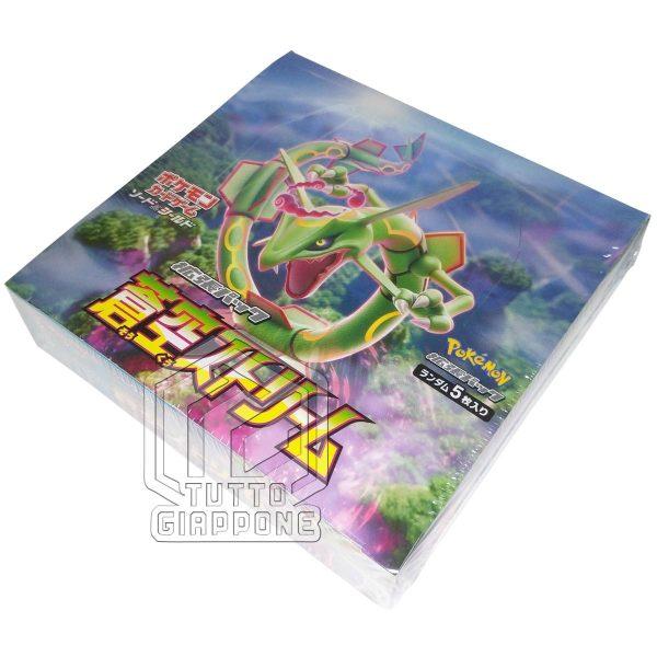 Pokemon Card Blue Sky Stream Rayquaza Box 4 TuttoGiappone