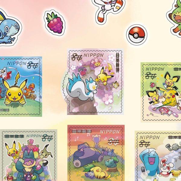 francobolli pokemon bianco 2 TuttoGiappone