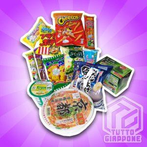 Ninja Box 1 snack giapponesi TuttoGiappone