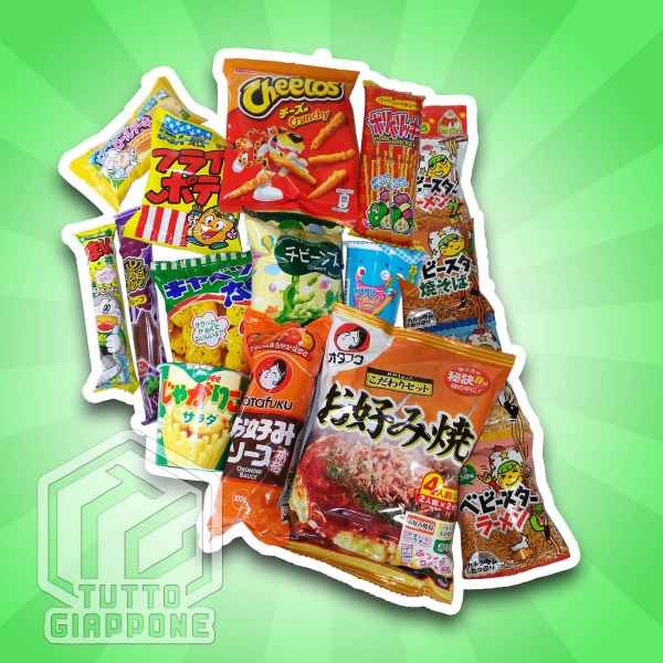 Ninja Box 2 snack giapponesi TuttoGiappone