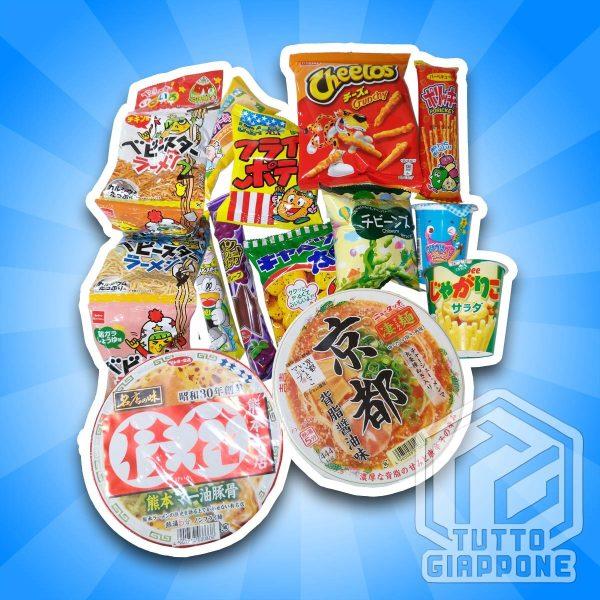 Ninja Box 3 snack giapponesi TuttoGiappone