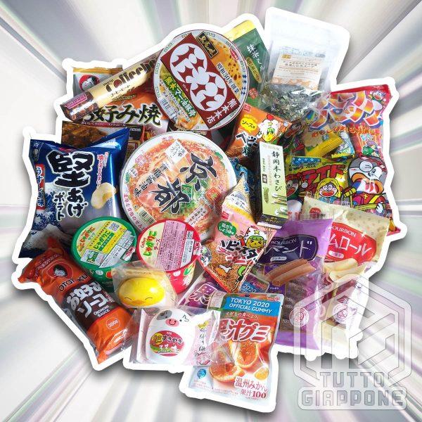 Ninja Box 5 snack giapponesi TuttoGiappone