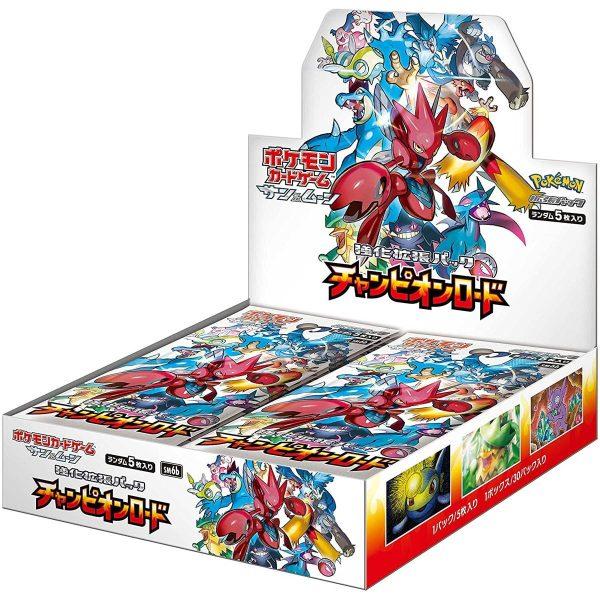 Pokemon Card Game Champion Road Box 01 TuttoGiappone