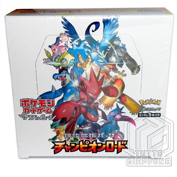 Pokemon Card Game Champion Road Box 02 TuttoGiappone
