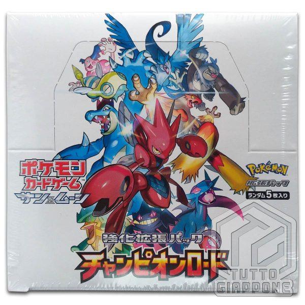 Pokemon Card Game Champion Road Box 03 TuttoGiappone
