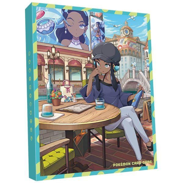 Pokemon collezione allenatore Azzurra promo firmata 02 raccoglitore TuttoGiappone