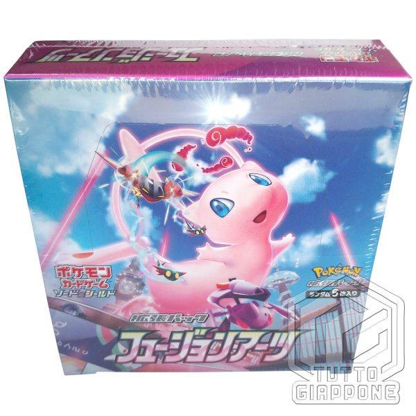 Pokemon Card Game Fusion Arts box 6 TuttoGiappone
