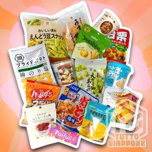 Zen Box snack giapponesi senza glutine TuttoGiappone
