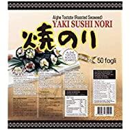 PaC Sushi Nori Sushinori - Alghe per Sushi (100 fogli) - 250 g