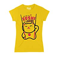 MUSH T-Shirt Donna  -  We all Love Sushi -Japan - Social by Dress Your Style