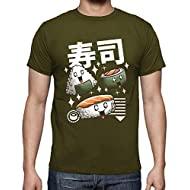 tostadora - T-Shirt Sushi Kawaii - Uomo
