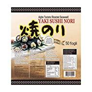 PaC Sushi Nori Sushinori - Alghe per Sushi (50 fogli) 125 g